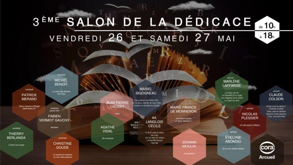 Affiche Salon Cora Arcueil mai 2017