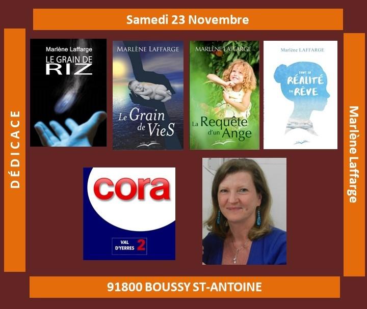 Affiche Cora Boussy nov 2019