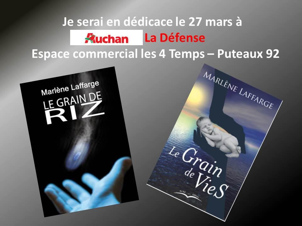 Auchan la Defense mars 2015