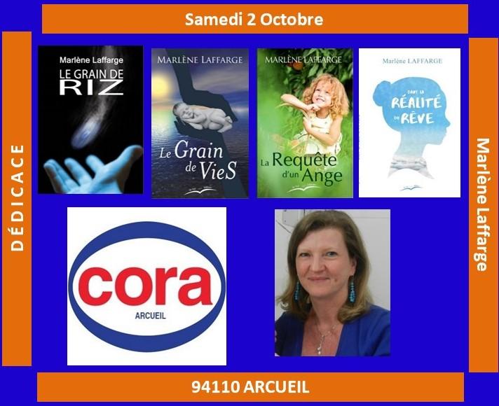 Afffiche Cora Arcueil 2 Oct 21